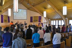 Sanctuary on a Sunday